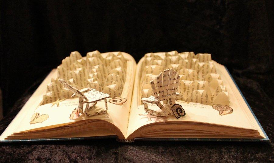 life__s_a_beach_book_sculpture_by_wetcanvas-d5imfbg